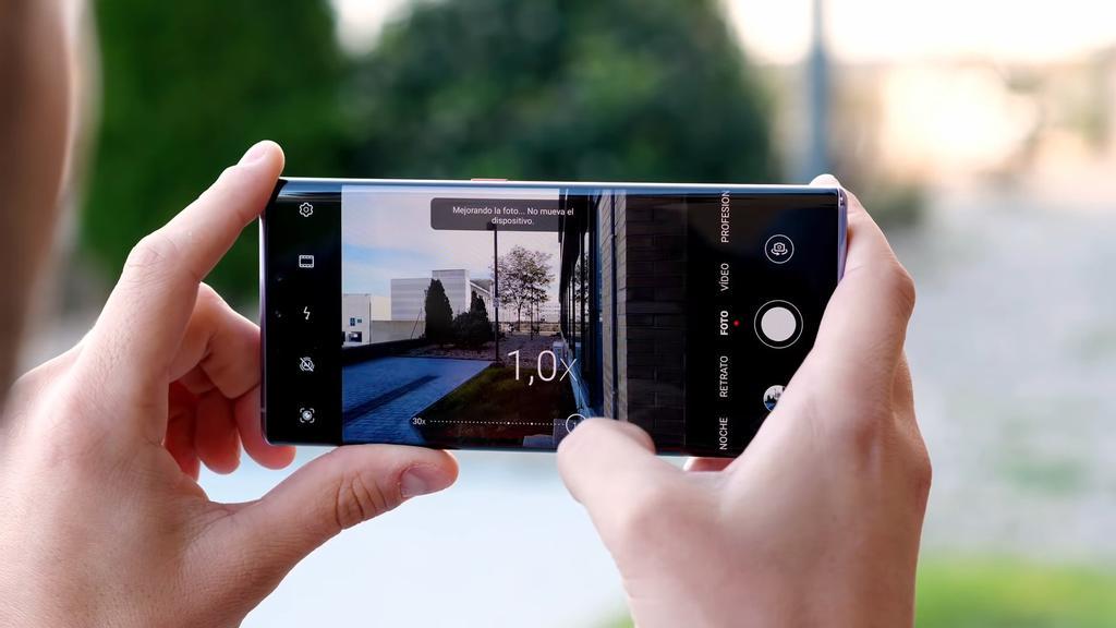 cámara del Huawei Mate 30 Pro