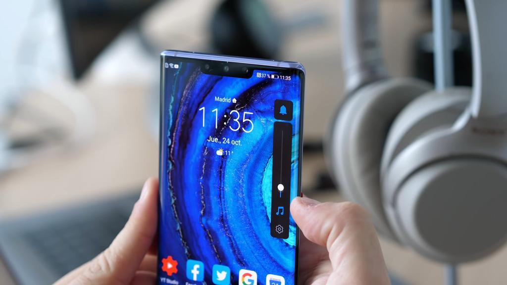 Volumen del Huawei Mate 30 Pro
