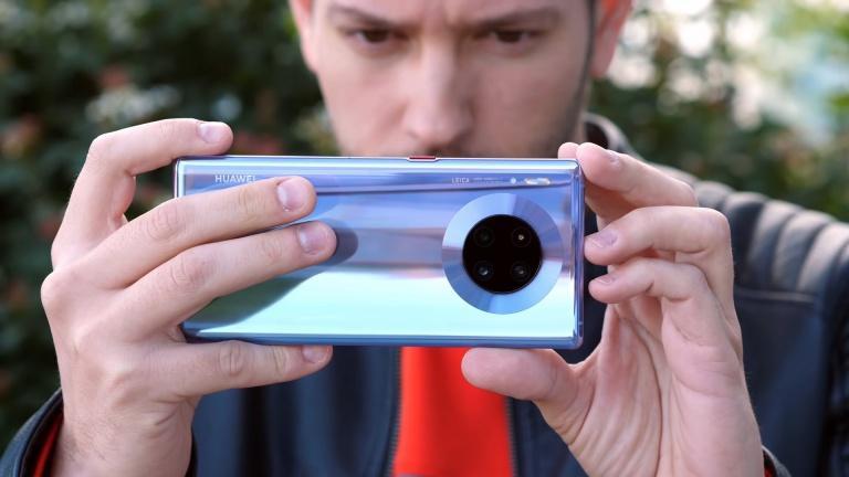 Cámara lenta del Huawei Mate 30 Pro