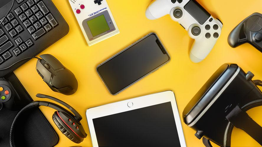 Juegos en la nube accesorios y dispositivos