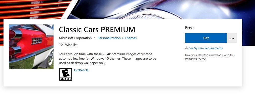 Descarga tema coches Windows 10