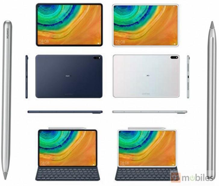 Opciones de uso del tablet Huawei MatePad Pro