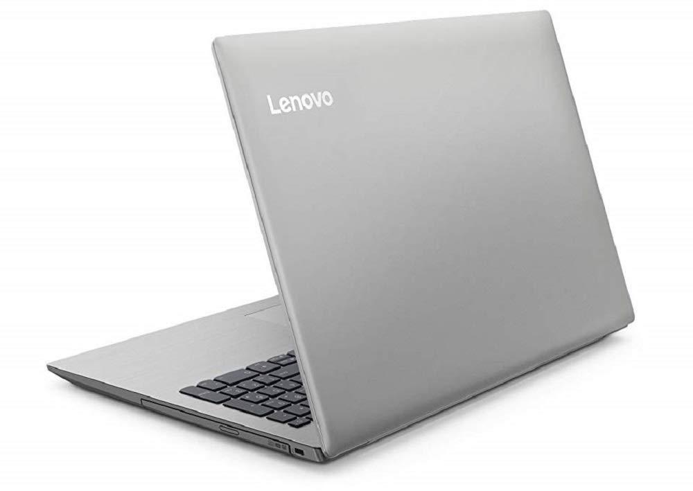 Portátil barato de Lenovo por detrás