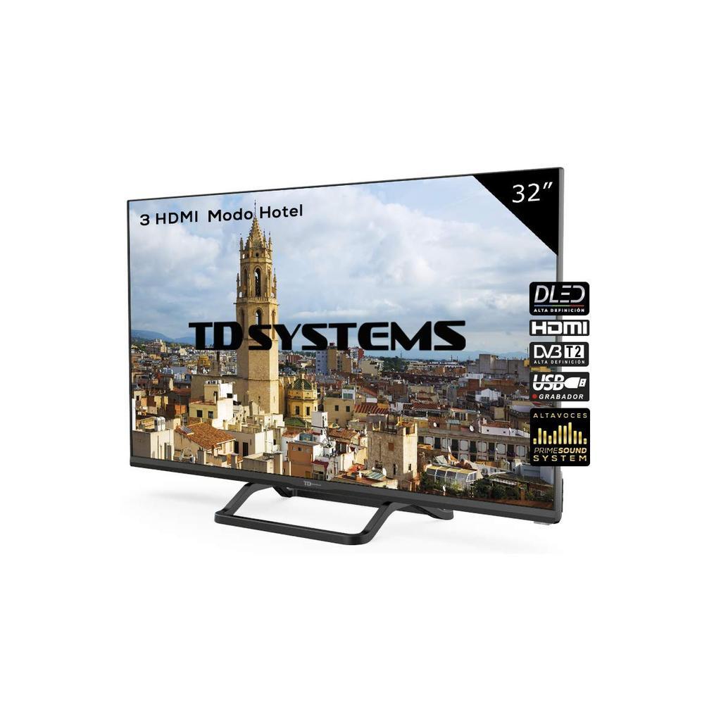 Televisor Led 32 Pulgadas HD de TD System