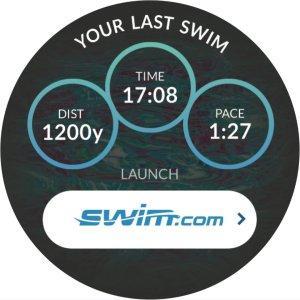 Aplicación Swin Samsung Galaxy Watch