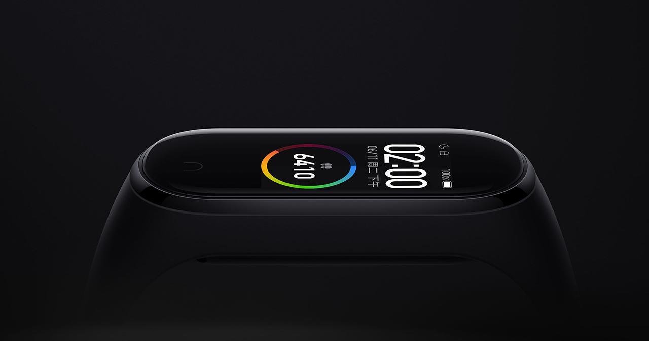 pantalla de la Xiaomi Mi Band 4, una de las mejores smartband