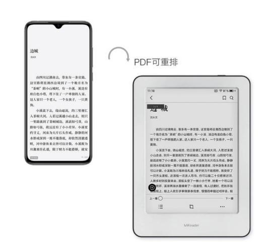 Lector PDF Xiaomi Mi Reader