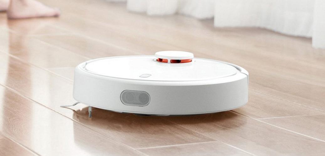 Xiaomi Mi Robot Vacuum en uso