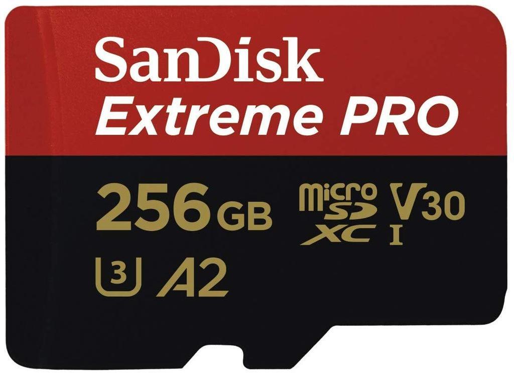tarjeta SanDisk Extreme PRO con adaptador