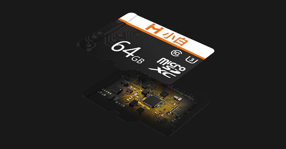 tarjeta microSD de Xiaomi abierta