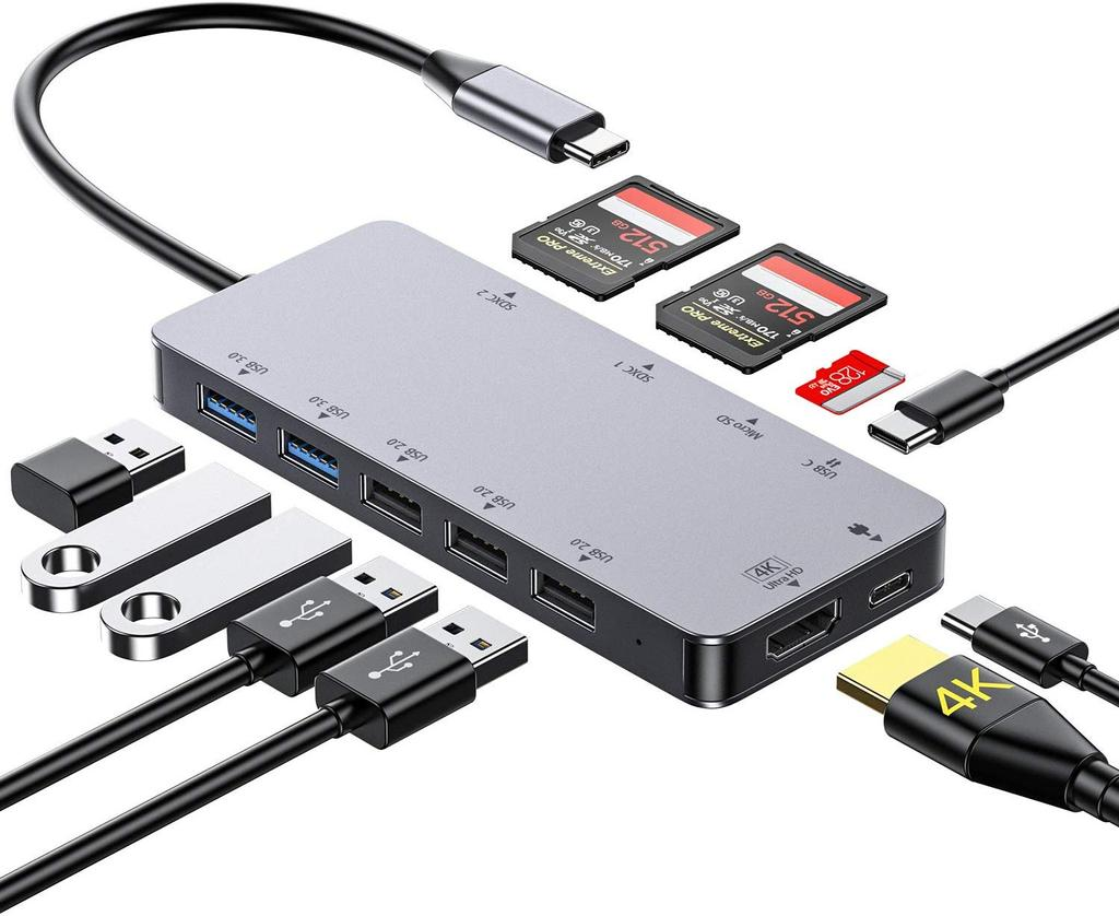 Hub Honmax Hub USB C