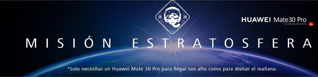 Promoción del Huawei Mate 30 Pro