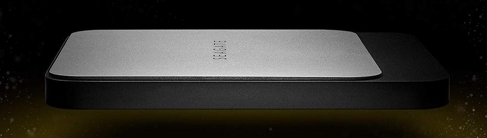 Side image of the Seagate Fast SSD