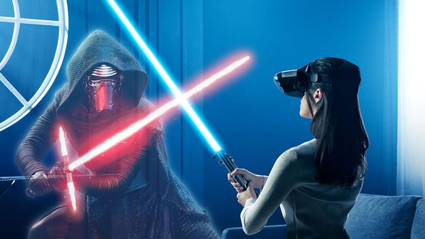 realidad virtual Lenovo - Desafíos Jedi