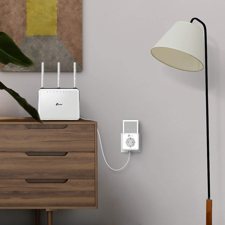 PLC conectado a un router