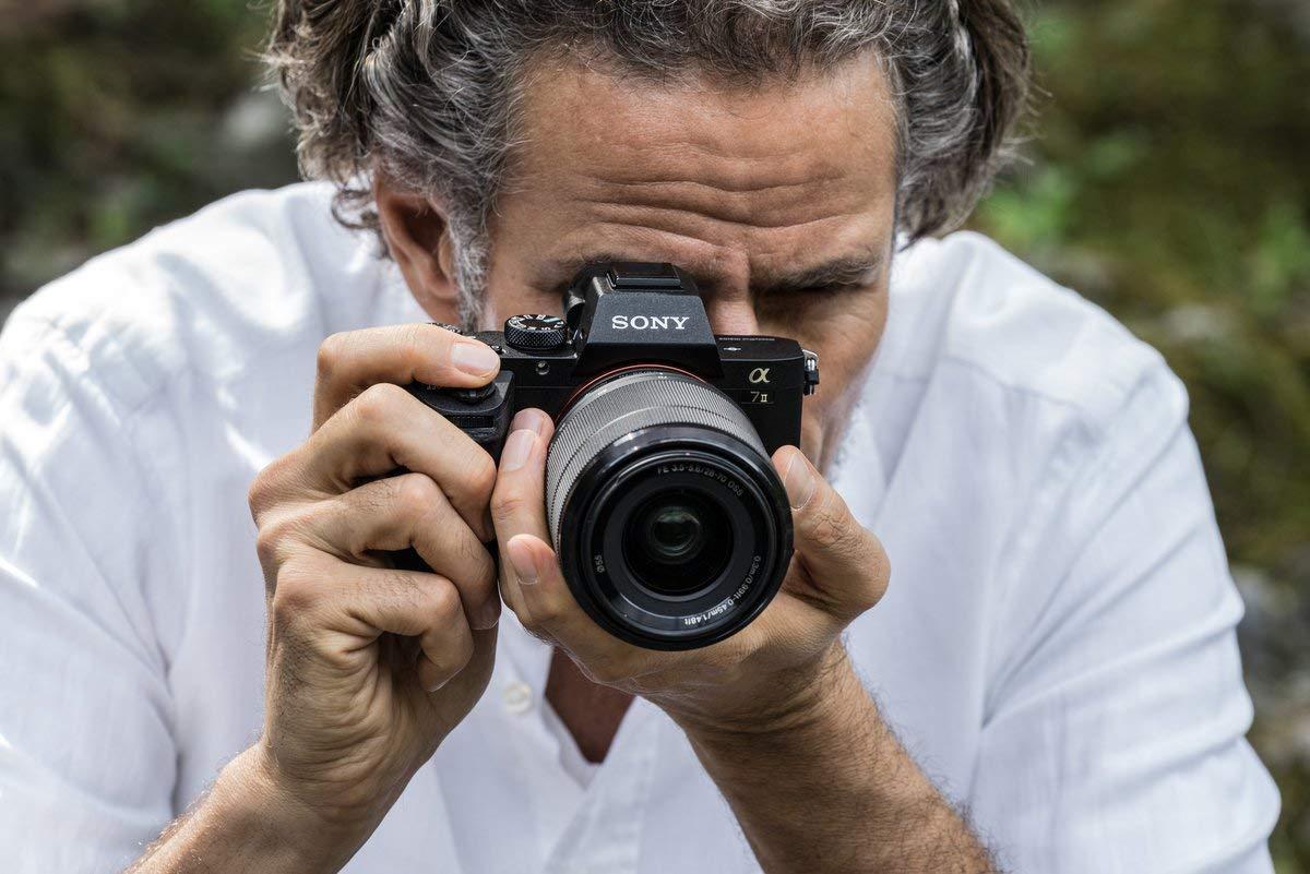 Uso de la cámara digital Sony Alpha ILCE-7M2K