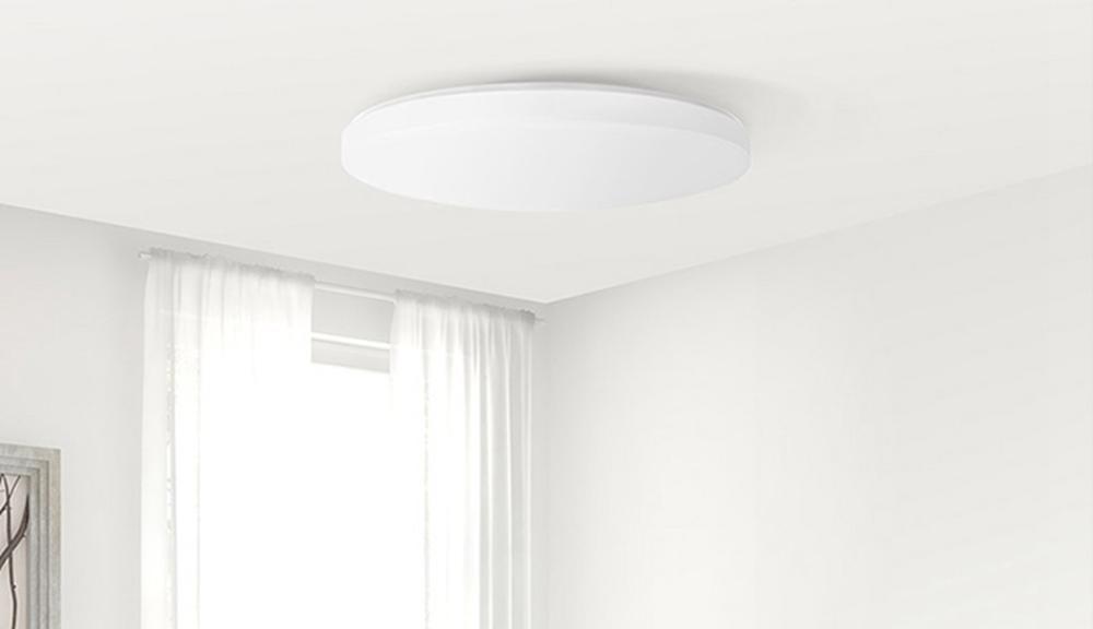 Lámpara Yeelight JIAOYUE en salón