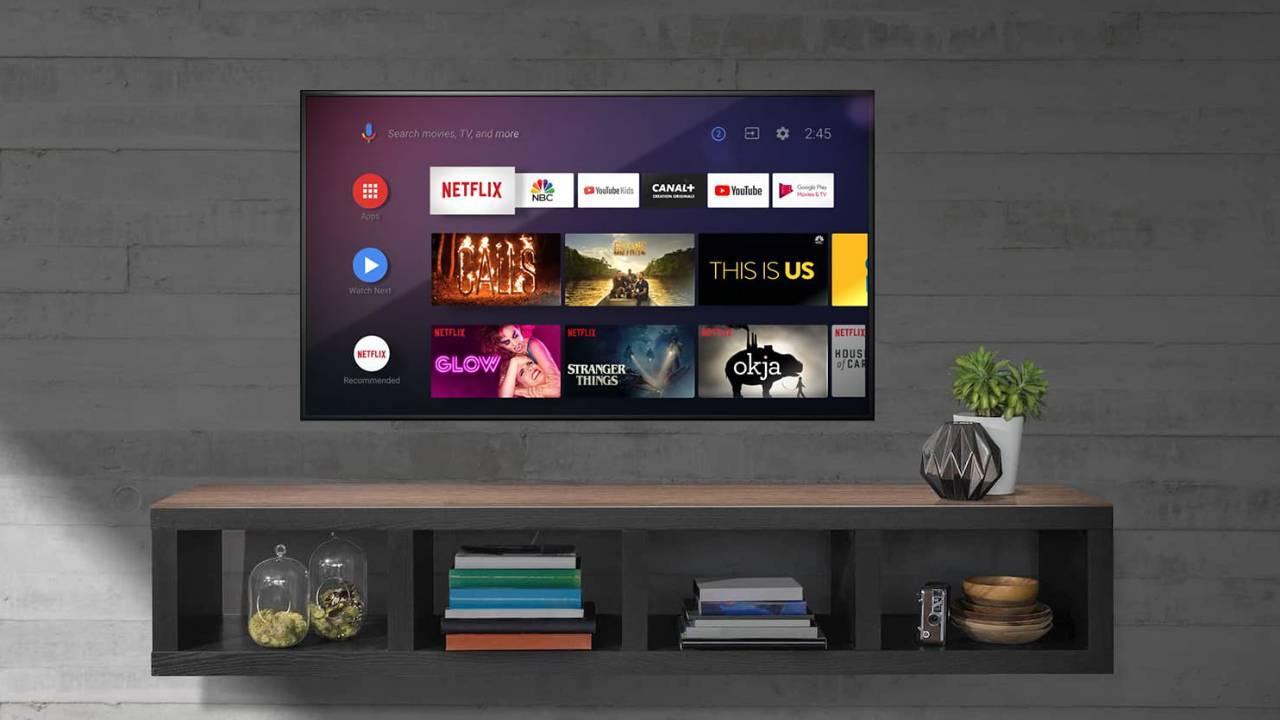 uso de Android TV en una Smart TV