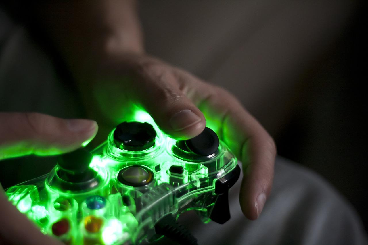 Mando verde jugar uso