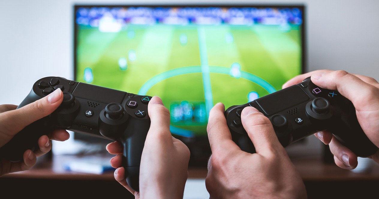 Jugar con la consola PS4