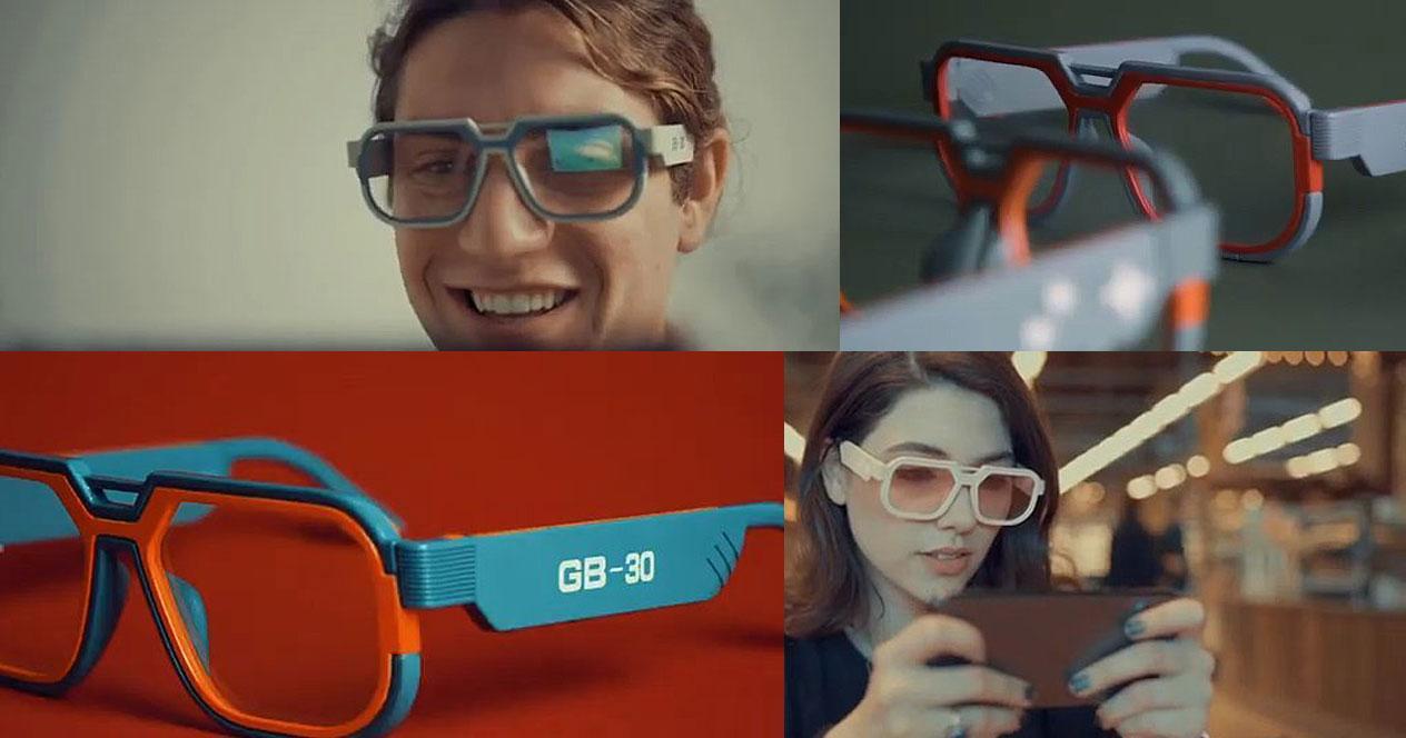 Imágenes de las gafas Mutrics GB-30