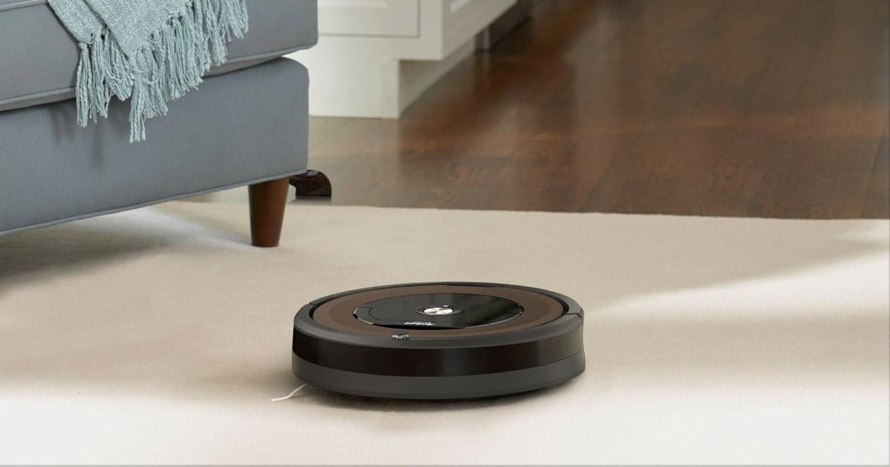 Uso de robot aspirador