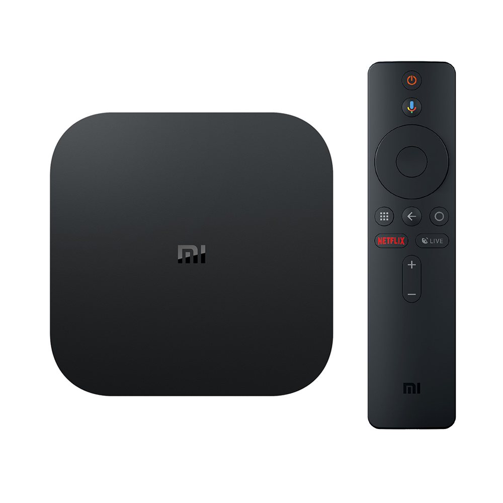 Diseño del reproductor Xiaomi Mi TV Box S
