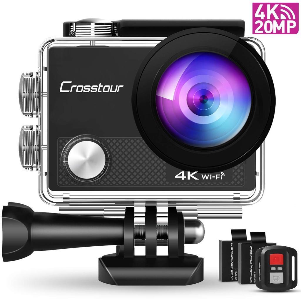 Cámara  Crosstour CT9000, una de las mejores cámaras deportivas baratas