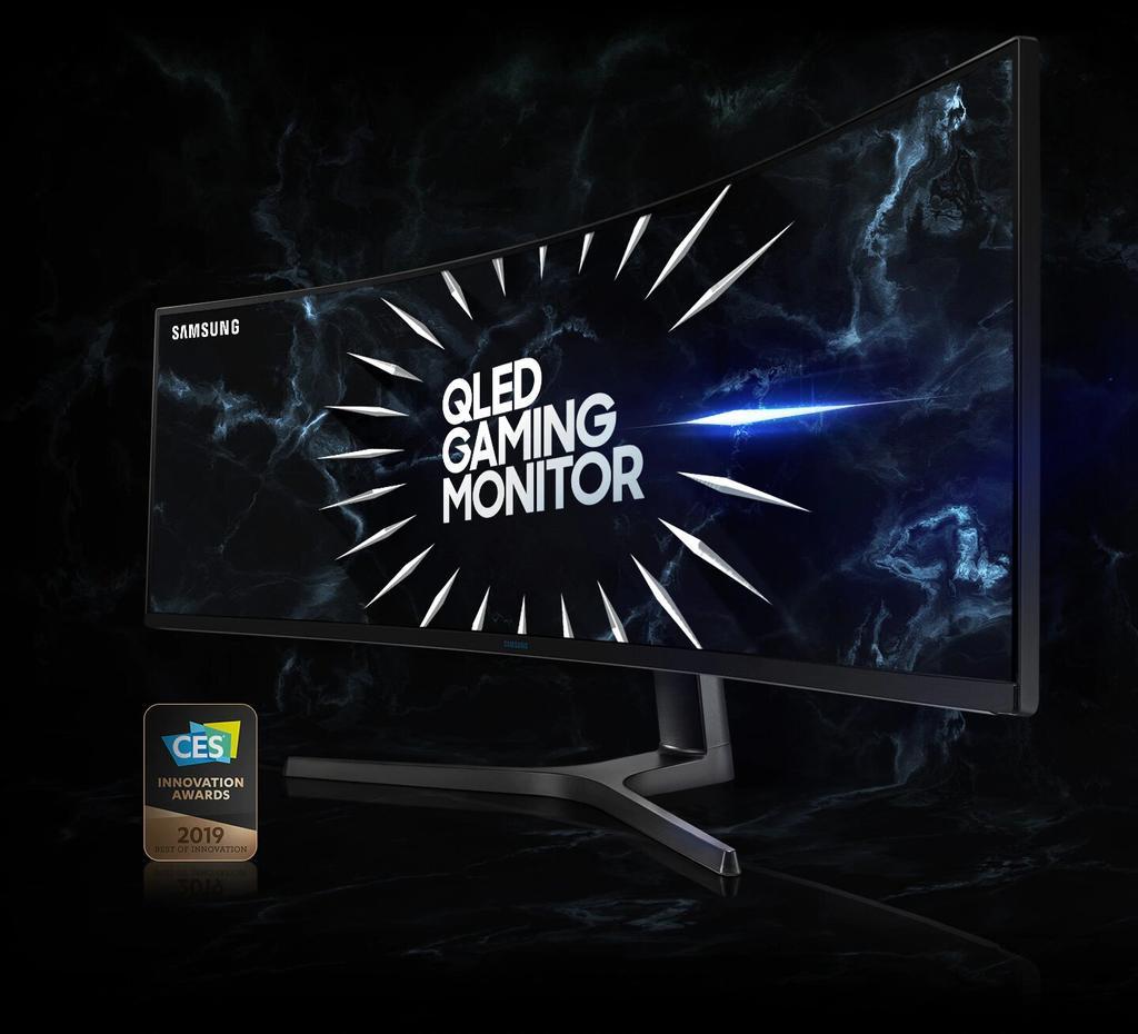Samsung LC49RG90 de frente