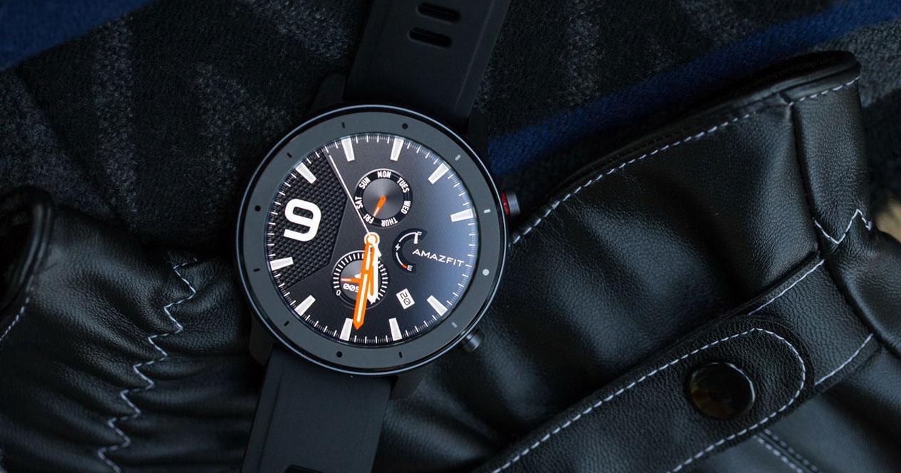 Imagen del smartwatch Amazfit GTR Lite negro