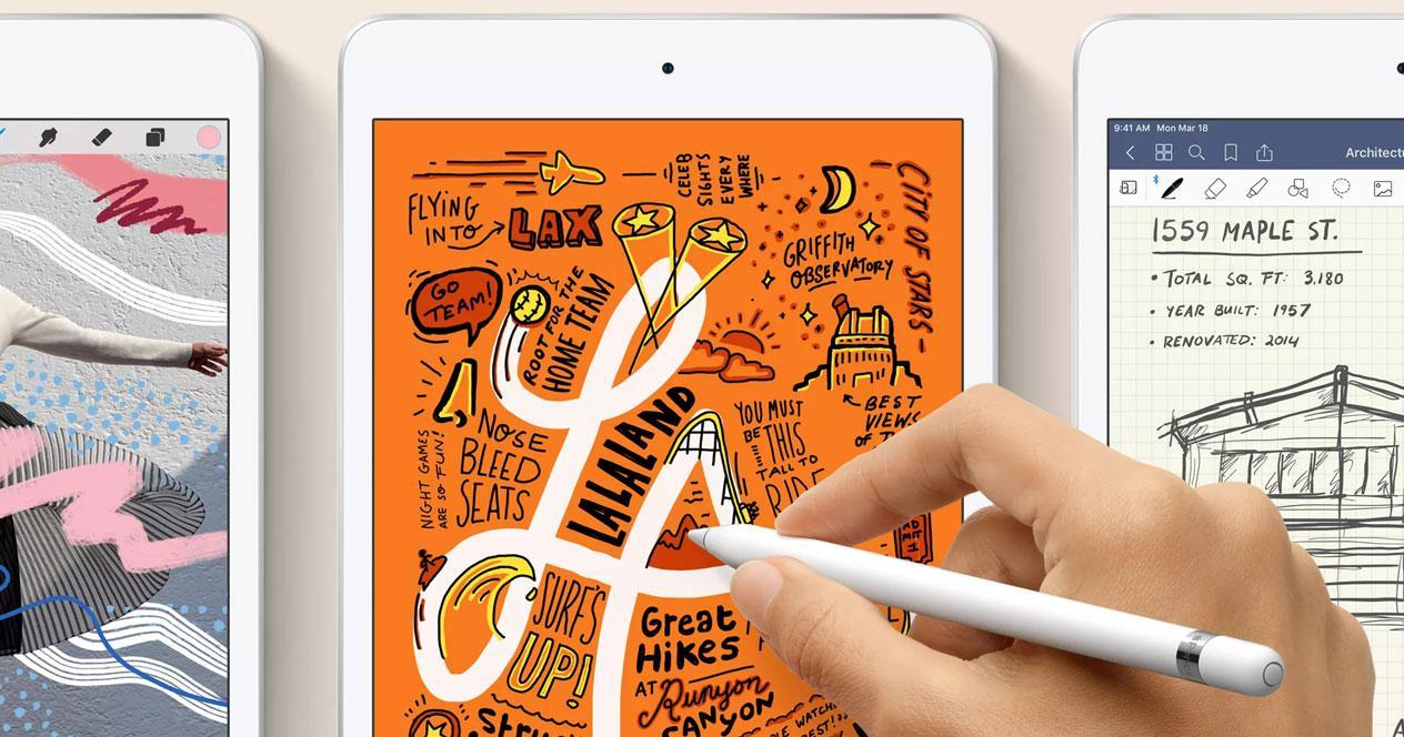 Uso de un nuevo tablet Apple iPad