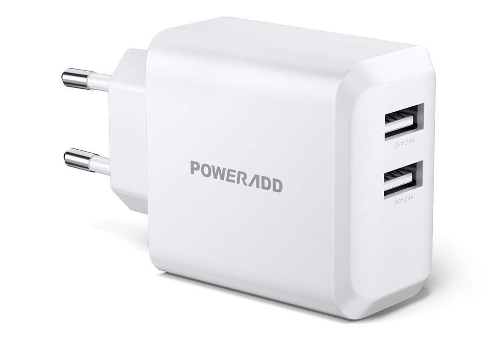 KONKY Cargador USB Multipuerto Quick Charge 3.0 30W Enchufe USB Cargador Rapido Cargador Movil para Samsung S9//Note 9//S8//iPhone Qualcomm Certificado LG iPad y M/ás HTC Nexus