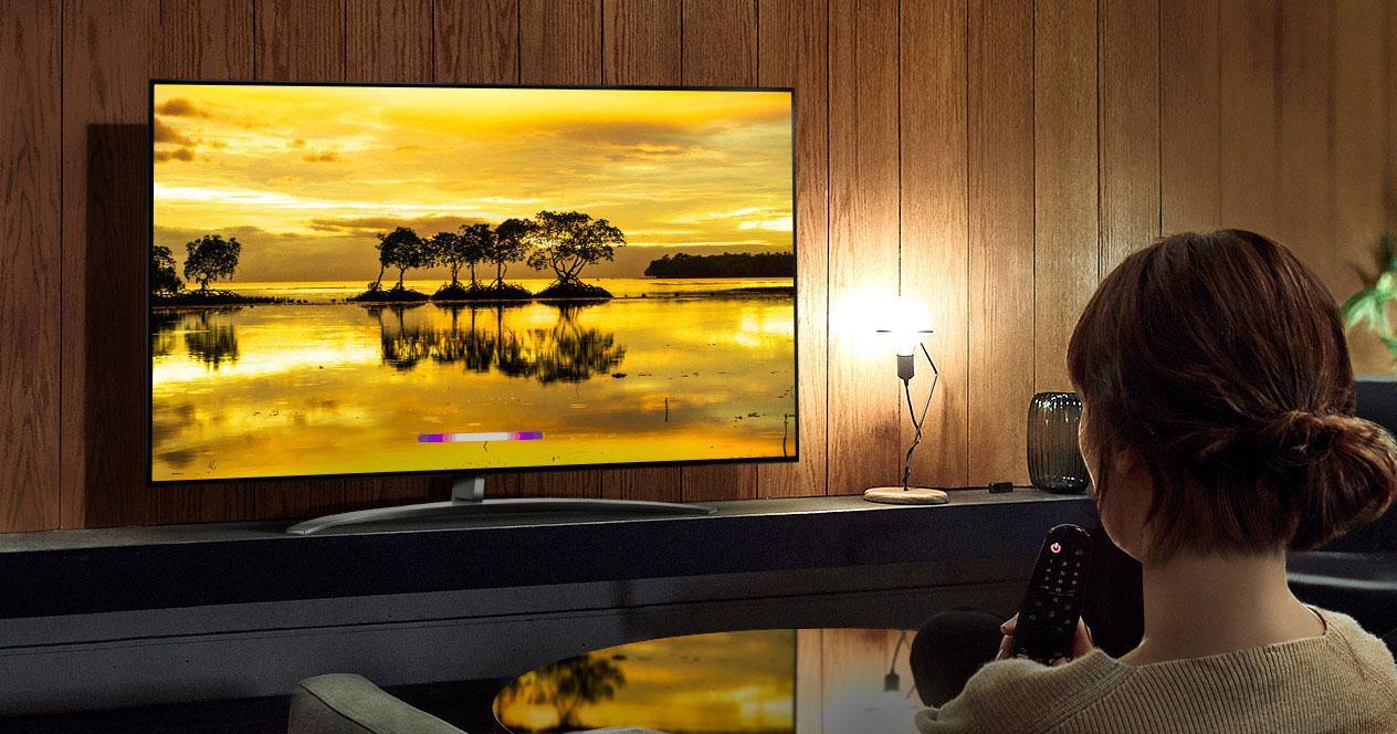 Uso de la Smart TV LG 65SM9010PLA