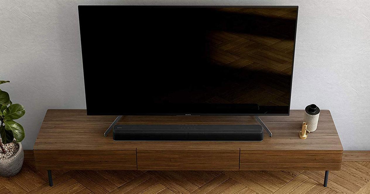 Uso de la barra de sonido Sony HT-X8500