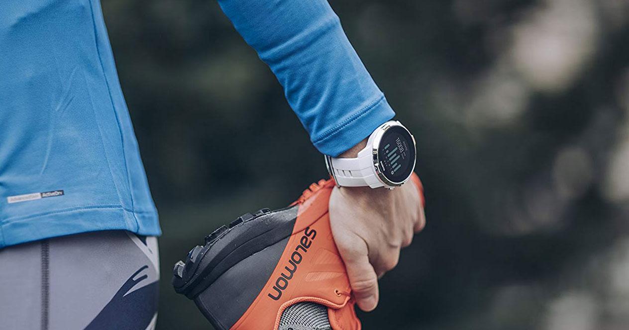 Uso de relojes con GPS