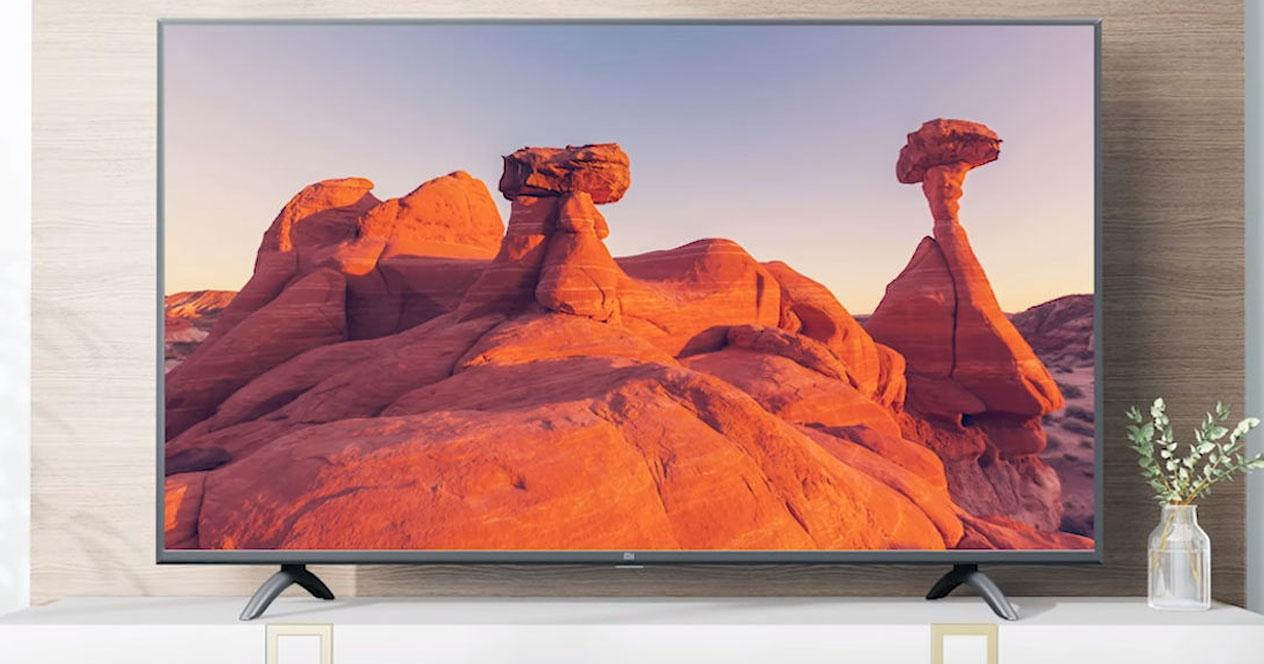 Smart TV Xiaomi Mi LED TV 4A en salón