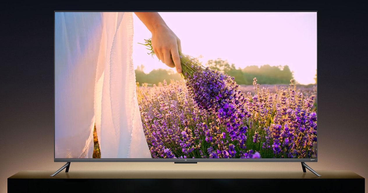 Imagen frontal de la Smart TV Xiaomi Mi TV 4S