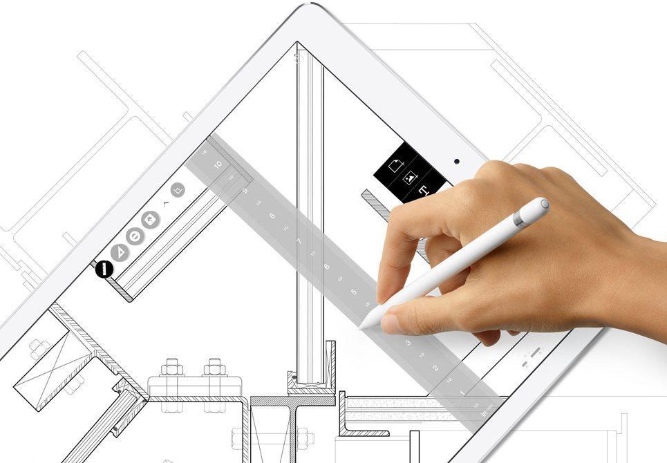Uso de Pencil en un Apple iPad