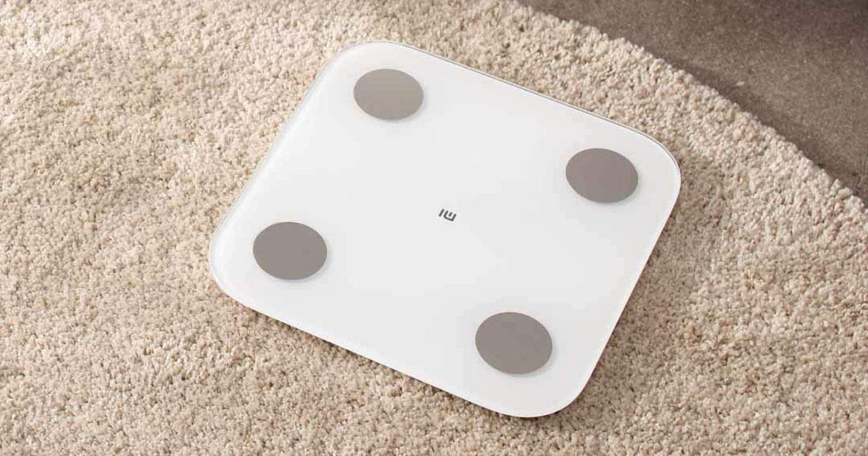 Bascula inteligente de Xiaomi