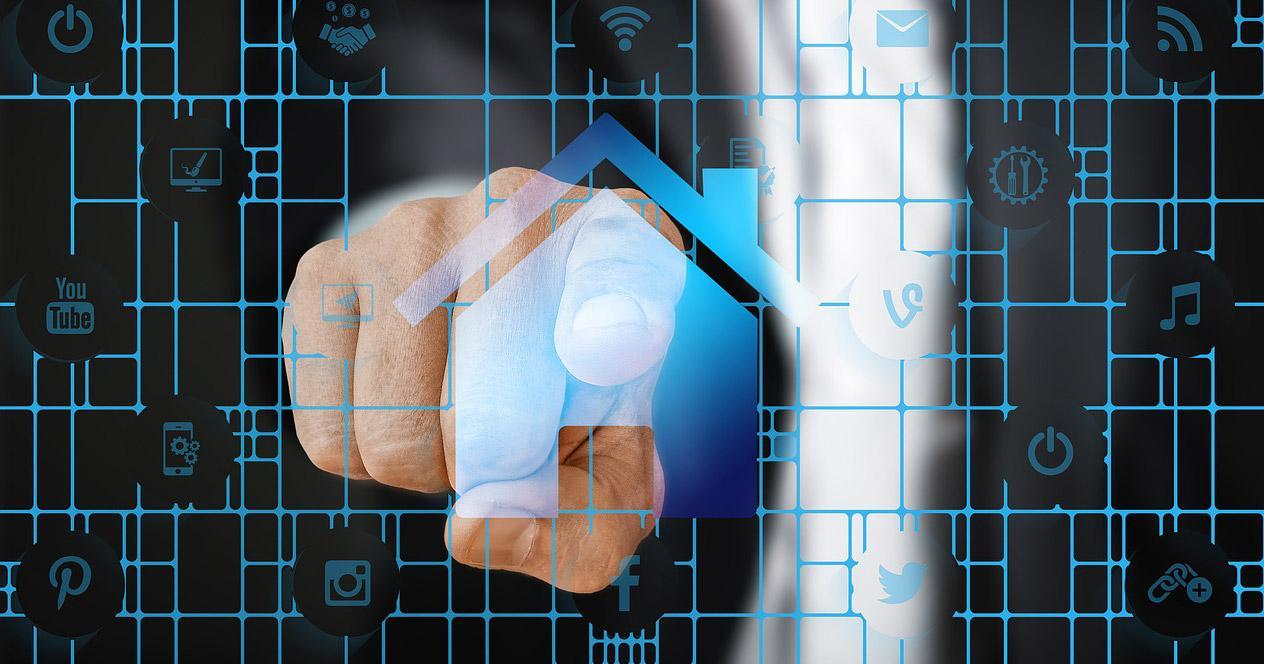 Conexión con dedo de acceso