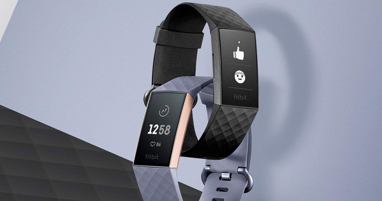 Colores de la smartband Fitbit Charge 3