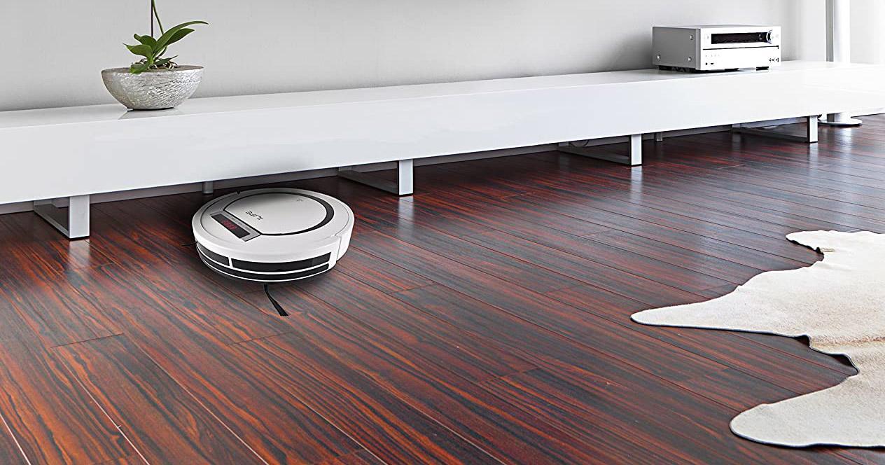 uso de robots aspirador en vivienda
