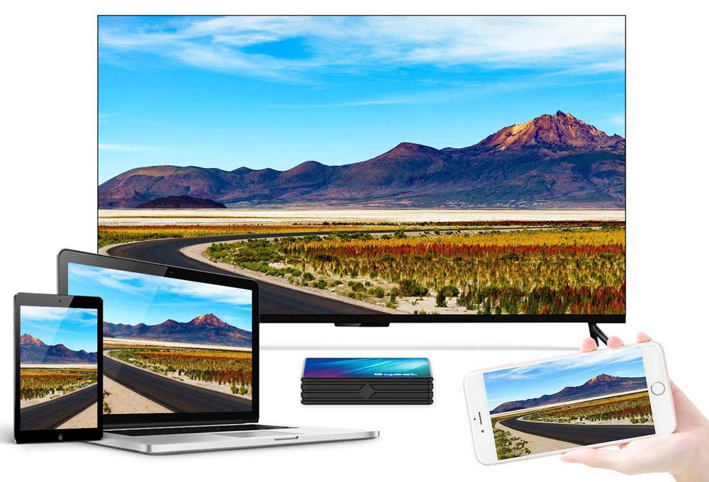 La compatibilité des reproducteurs rivalise avec la Xiaomi Mi TV Box