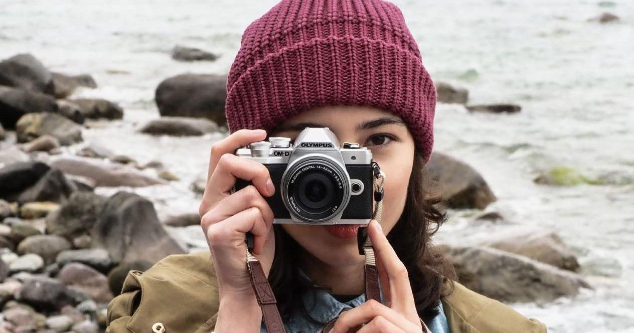 Uso de la cámara Olympus OM-D E-M10 Mark III