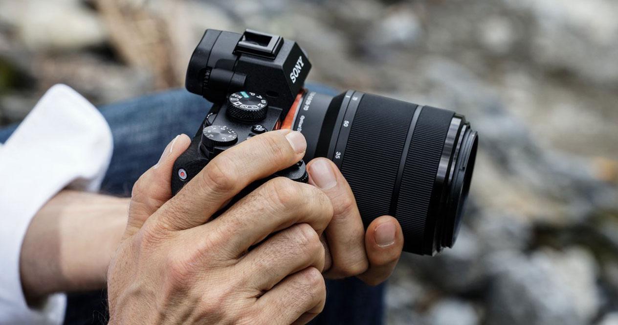 Uso de la cámara EVIL Sony Alpha ILCE-7M2K