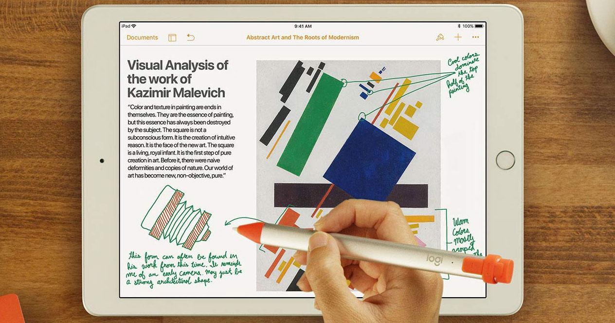Stylus compatible con los iPad