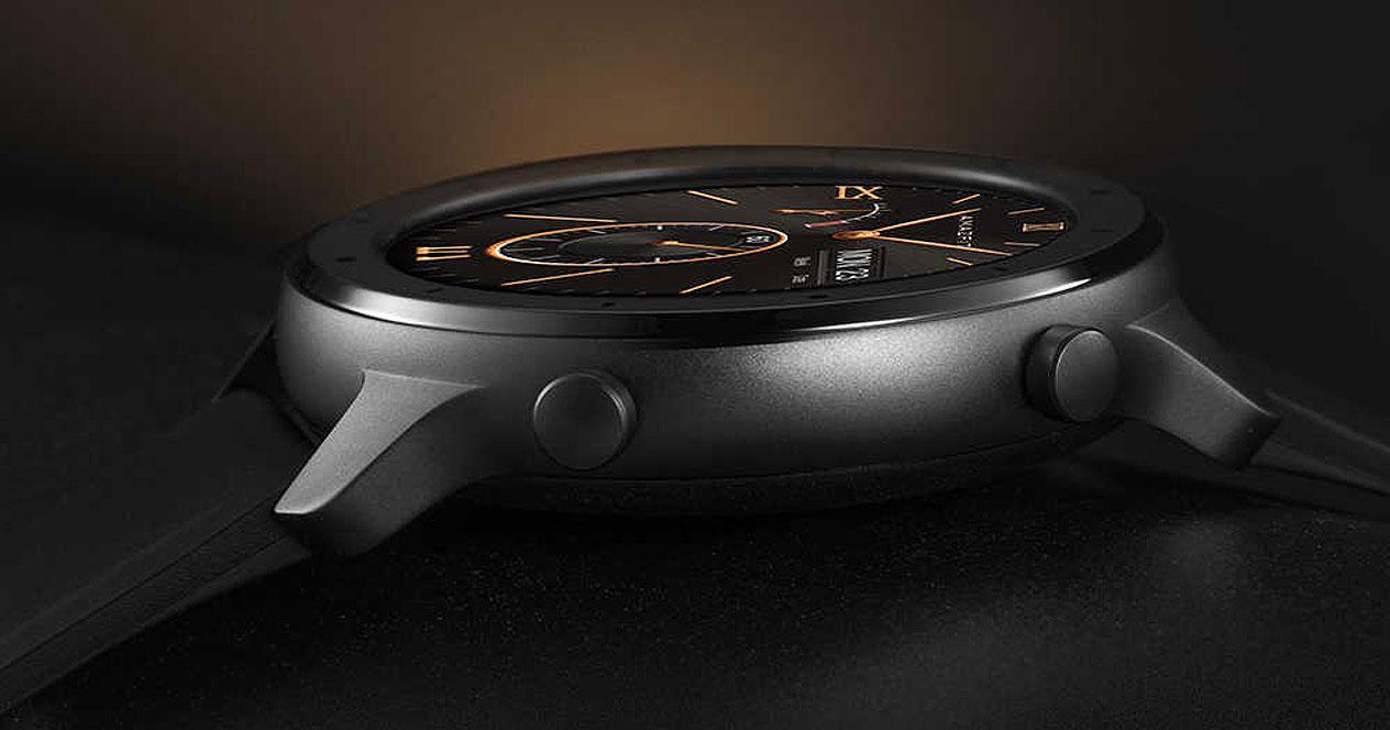 Botones del smartwatch Xiaomi Amazfit GTR Lite