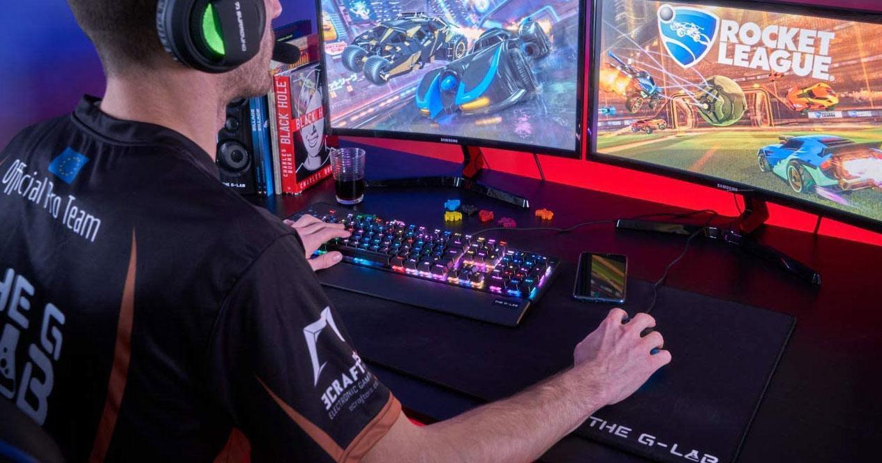 Uso de Teclados gaming
