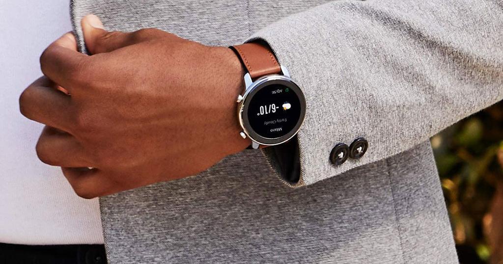 Smartwatch Xiaomi Amazfit GTR uso