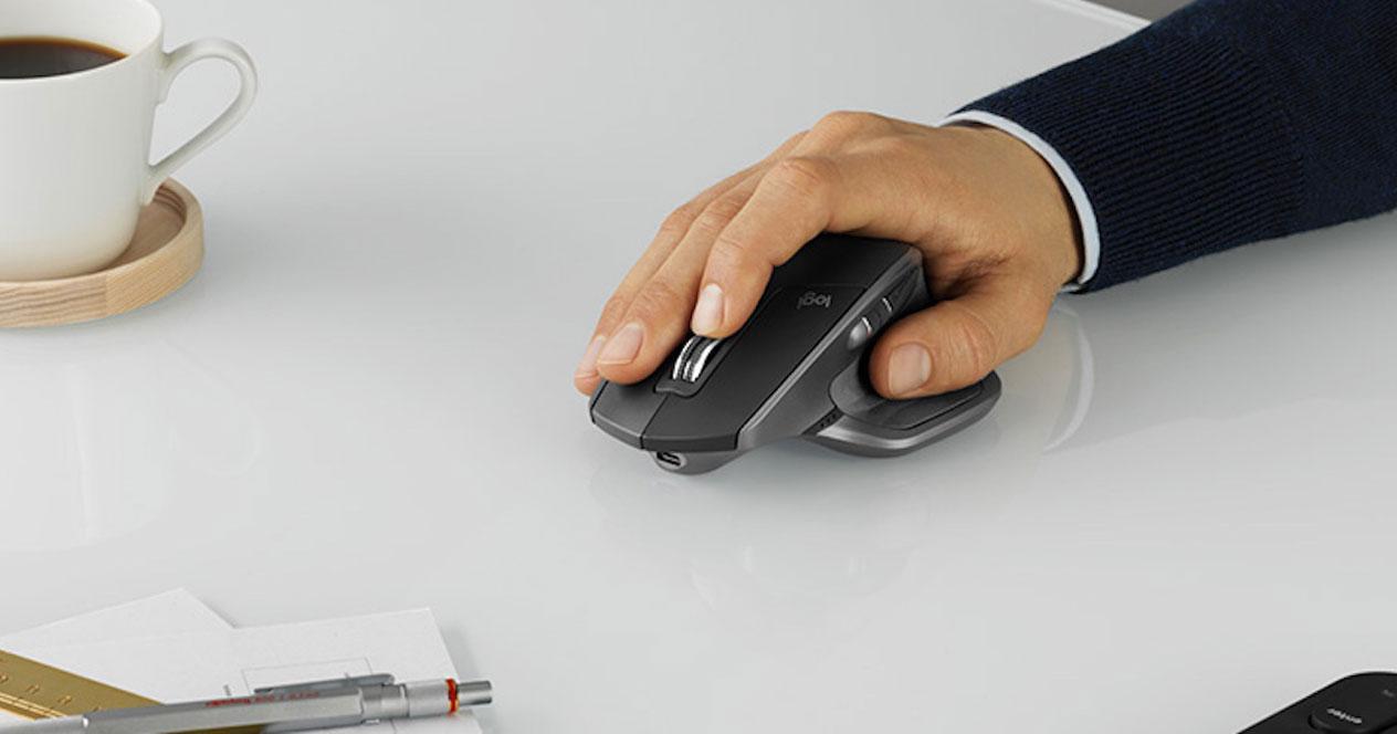 Uso del ratón Logitech MX Master 2S